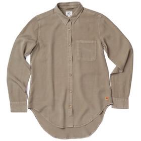 tentree Fernie EV2 LS Button Up Shirt Women Vetiver Green